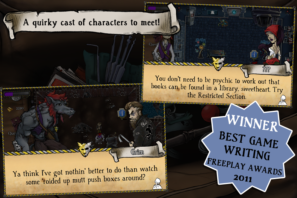 Screenshot MacGuffin's Curse Review