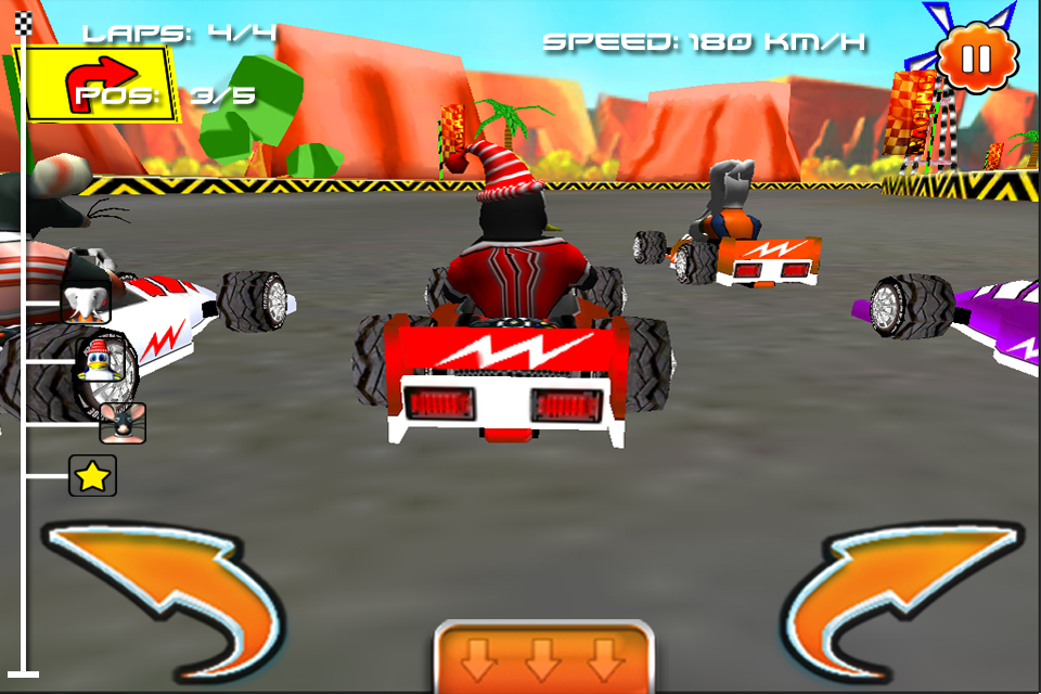 Screenshot Cartoon Racing ( 3D Fun Racing Games )